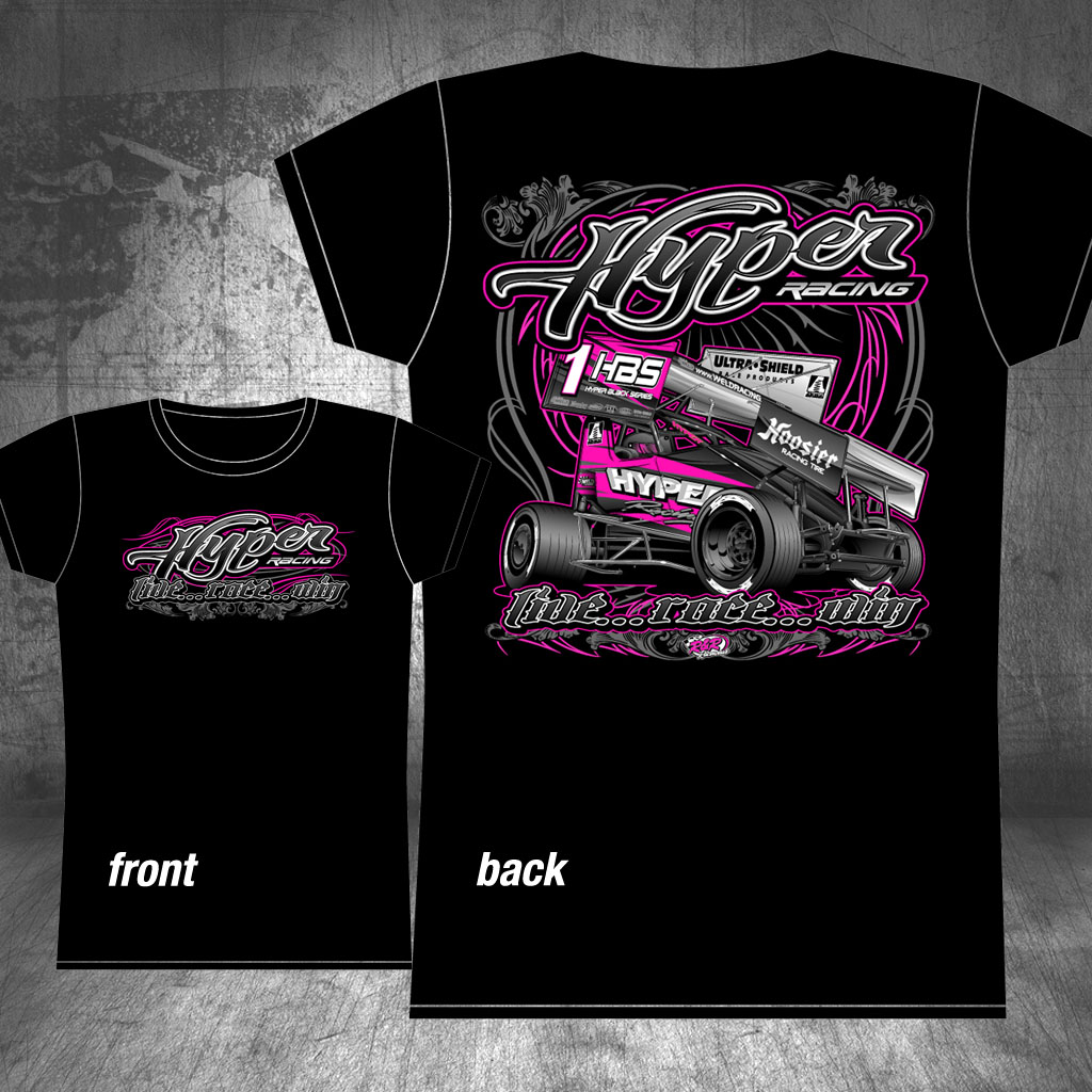 Online store hyper racing for Create t shirt store online