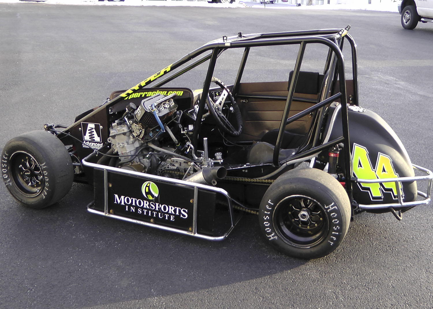 Midget cars for motors race